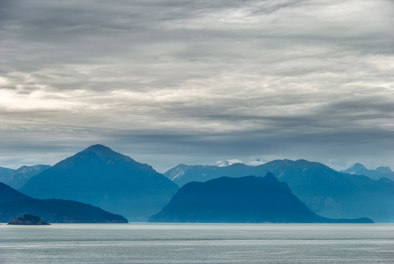 View Toward Howe Sound From Whytecliff Park