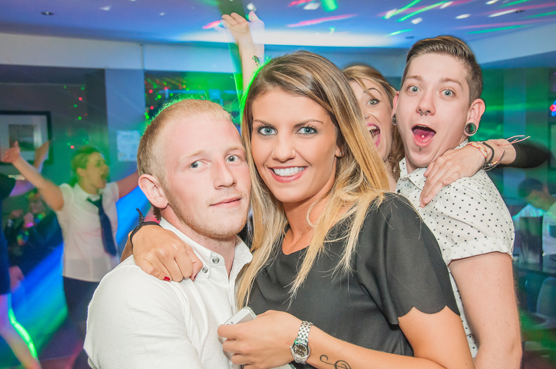 Photobomb taken at Madisons nightclub in Musselburgh