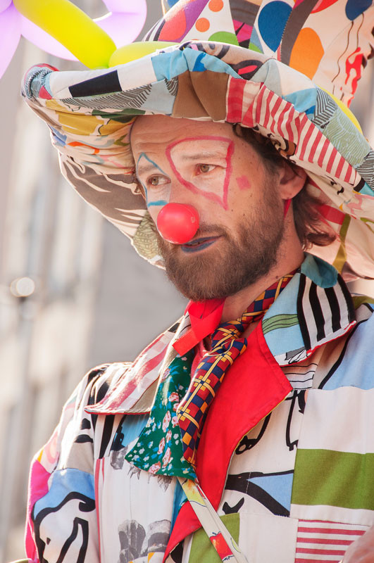 Edinburgh Fringe Festival 2015 clown